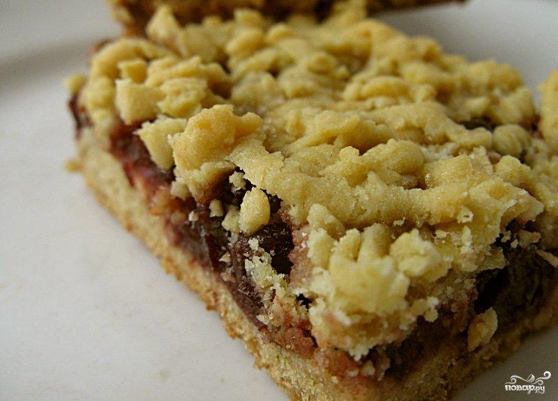Пирог печенье с вареньем рецепт
