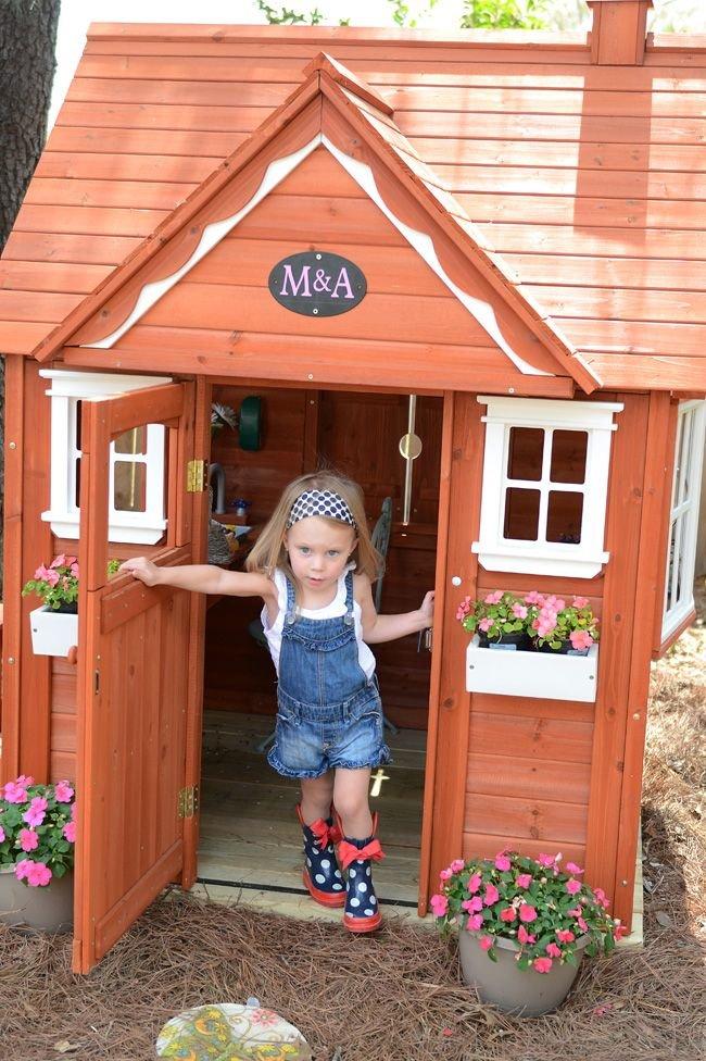 Детская площадка для дачи своими руками 11