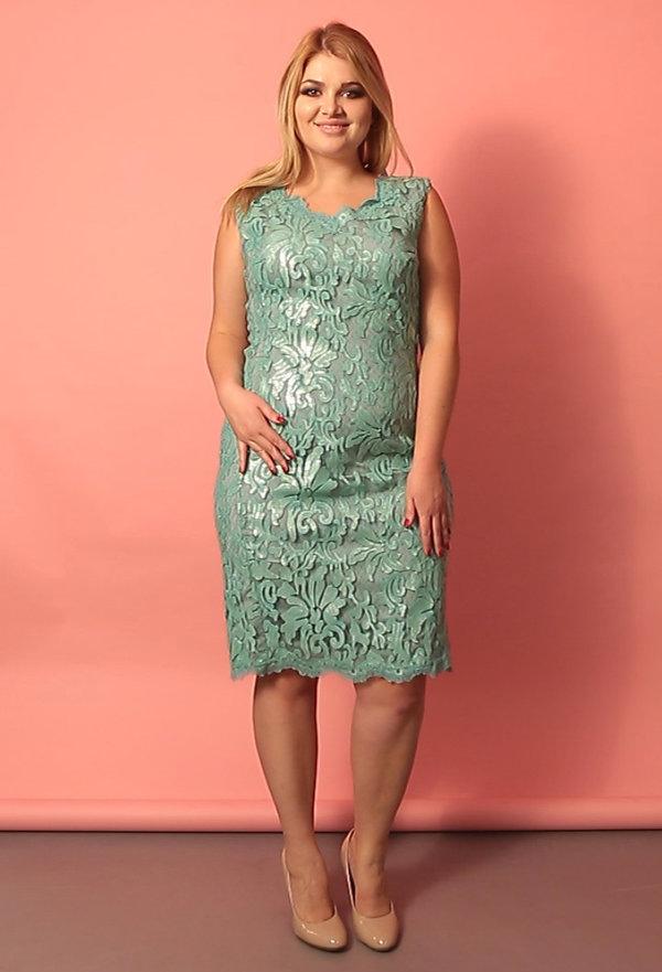 Коктейльные платья больших размеров фото