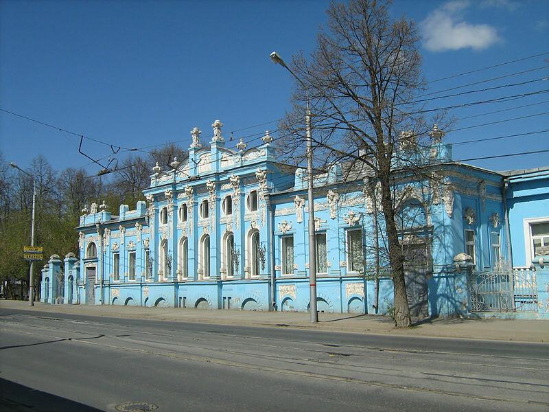 Дом С. М. Грибушина, Пермь, 1905 г., архитектор - А. Б. Турчевич