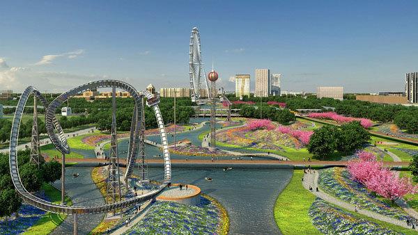 Проект реконструкции Центрального парка Астаны (фото) Проект реконструкции Центрального парка Астаны (фото)