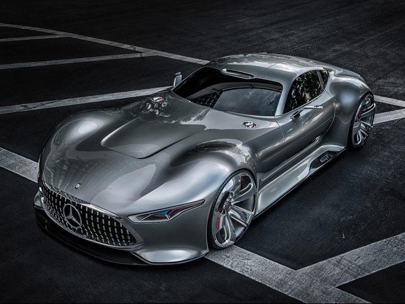 Концепты Mercedes-Benz один из самых быстрых