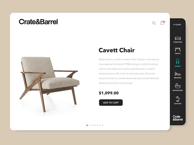 Create & Barrel   Concept