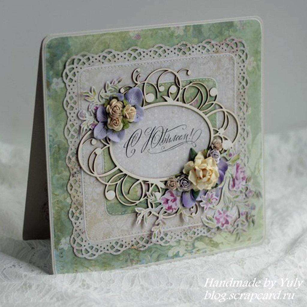 Картинки, скрап открытка для женщины 60 лет