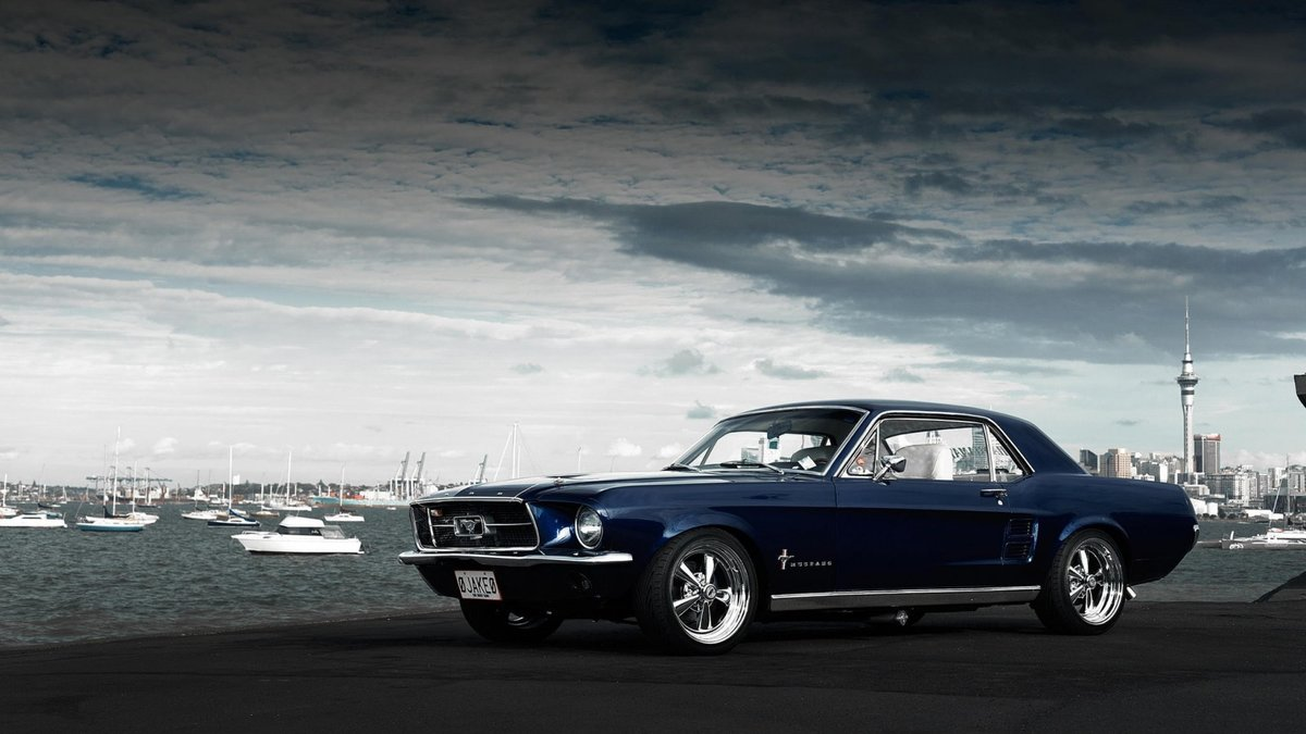 12. Ford Mustang    1967