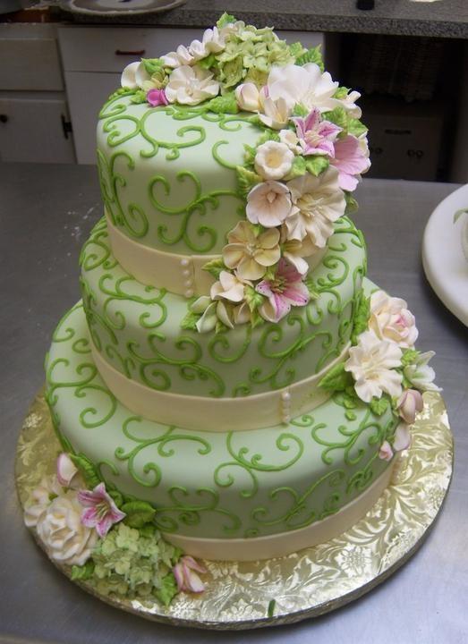 Каталог торты на свадьбу фото