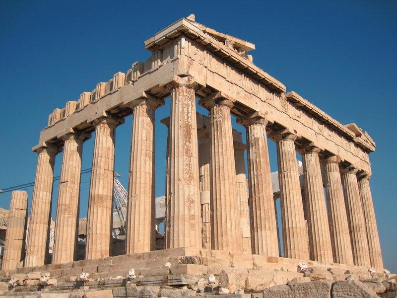 Греческая столица Афины