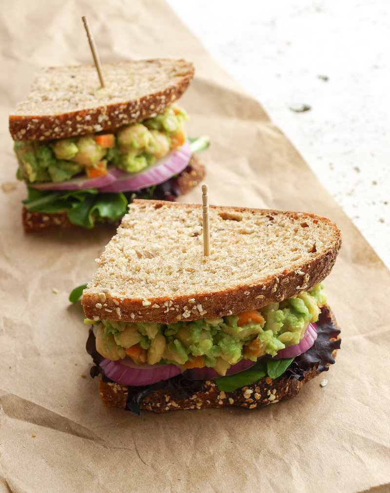 Happy New Year 2015! It's been a few long weeks since my last post. I hope everyone had a wonderful holiday and happy new year! It feels good to be back bringing you some healthy inspiration to start your new year. I'm starting the year off with this most delicious mashed chickpea & avocado sandwich. I love my chickpeas...Read More »