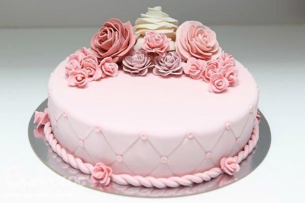 мастичный торт фото