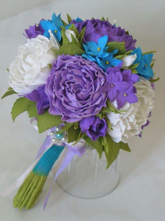Праздничного, красивые цветы букеты из фома