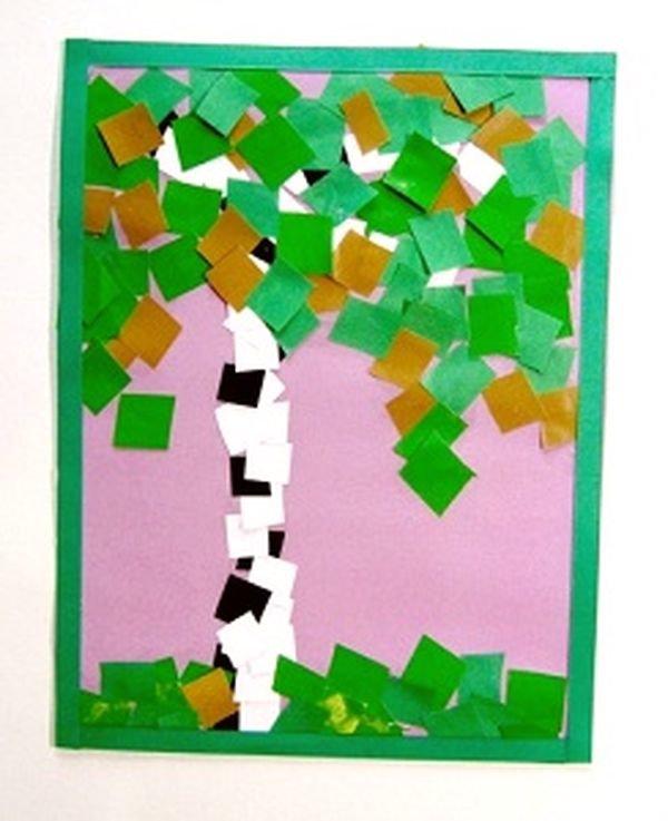 Мозаика бумажной мостовой поделка поздравительная открытка, надписями стенах прикольные