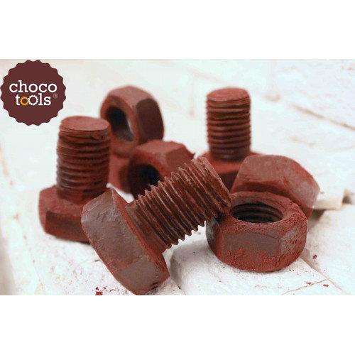 Шоколадные болты и гайки