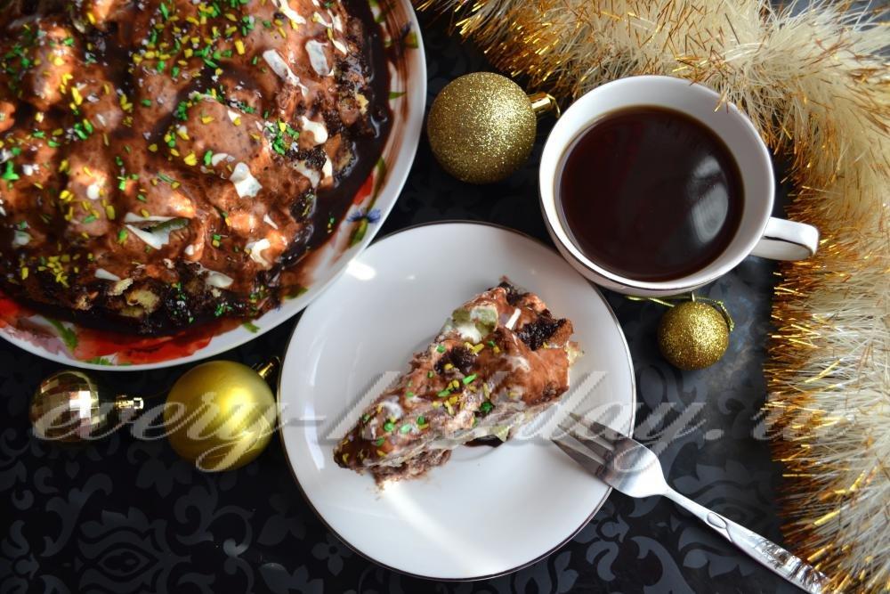 кучерявый пинчер -торт,рецепт