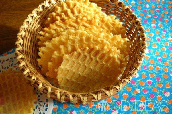 Тонкие вафли рецепт с фото