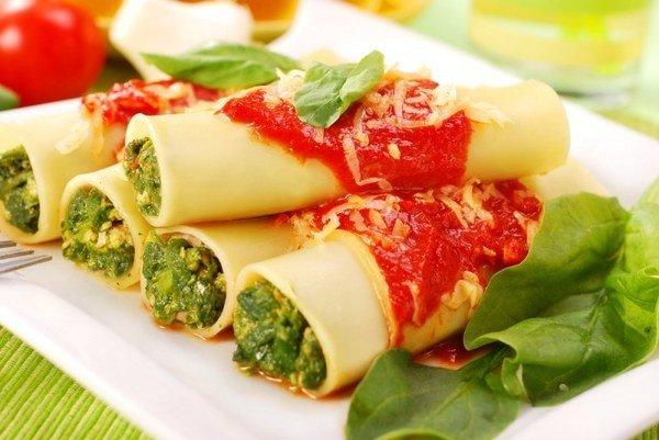 Итальянская паста с фаршем рецепт с фото