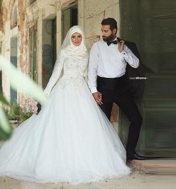 свадебные платья фото арабские