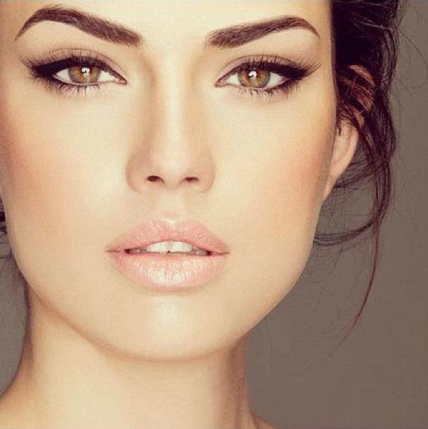 Летний макияж, естественные цвета для карих, зеленых, голубых глаз ... Макияж для карих глаз