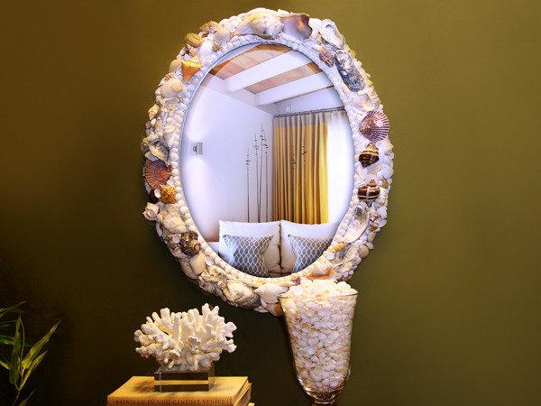 Зеркало в морском стиле.