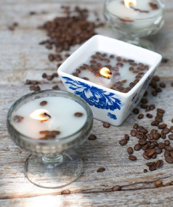 попку как сделать свечку с кофе любим подглядывать
