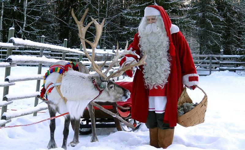 Новогодние каникулы в Финляндии с детьми можно отпраздновать очень весело.
