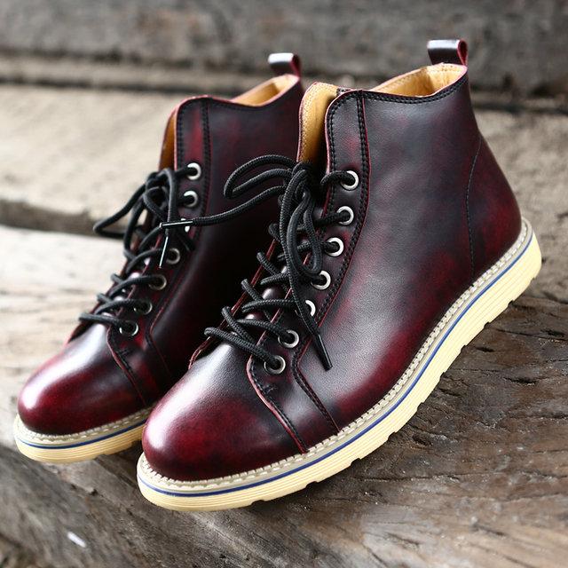Мужские Ботинки Удобные Зимние