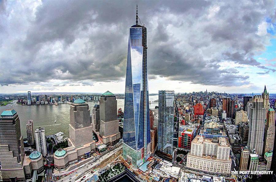 Всемирный торговый центр 1 или Башня Свободы (One World Trade Center).  Отель небоскрёб 9c878eb6f89