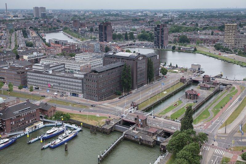 Современная архитектура Роттердама-Schiecentrale 4B