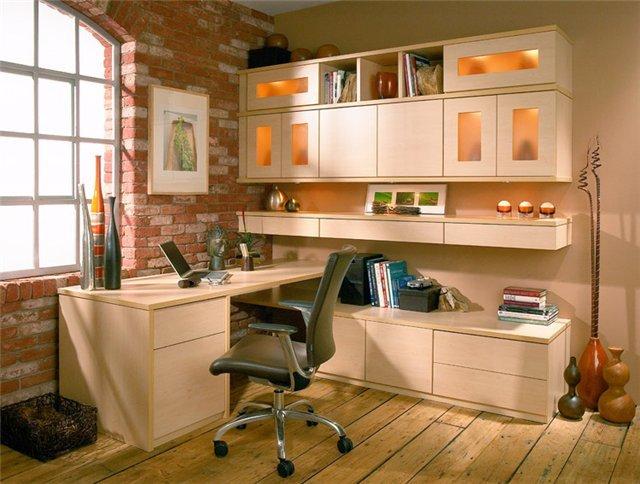 Выбор мебели для домашнего кабинета Практичные стеллажи и шкафы