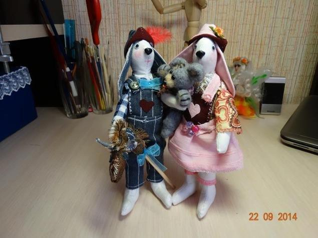 Пара зайцев Тильда