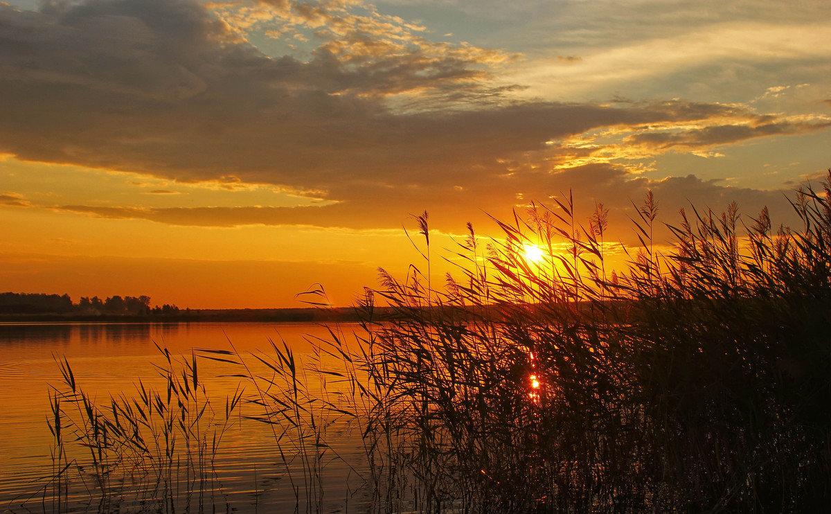 Началом, картинки природа закат солнца