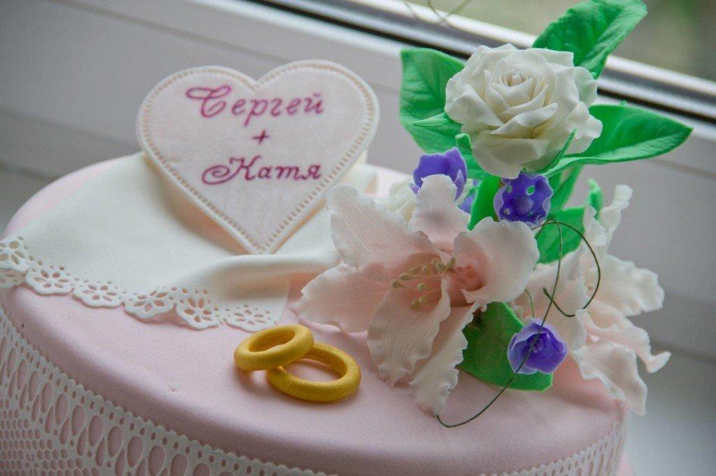 Свадебный торт украшение мастикой