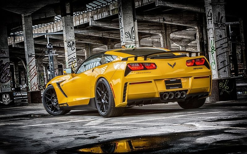 708-сильный Corvette C7 Stingray от Ruffer Performance >> Ведущие тюнинг-ателье