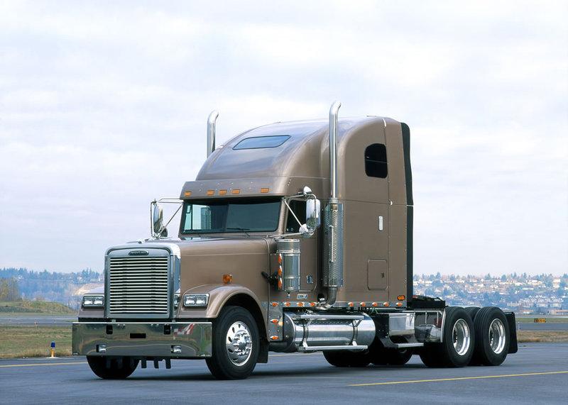 Американские седельные тягачи Freightliner » uCrazy.ru - Источник Хорошего Настроения