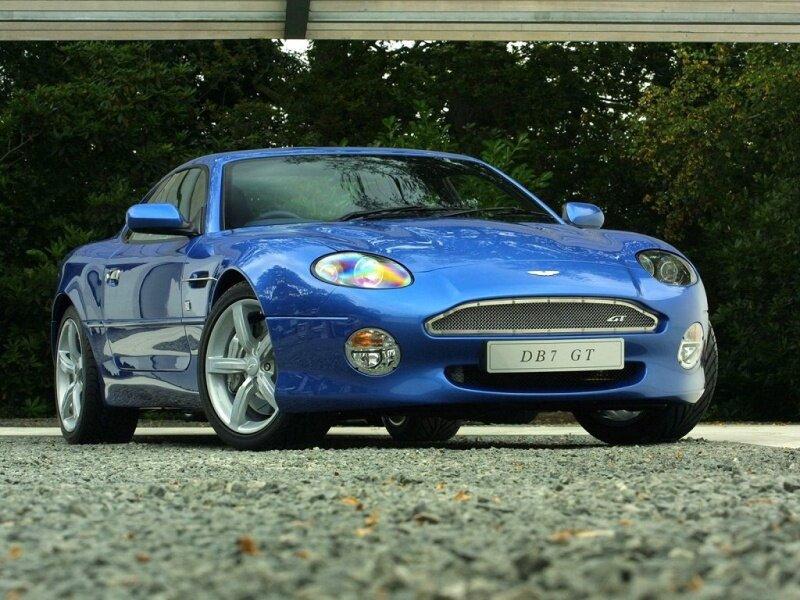 Aston Martin DB7 (Астон Мартин DB7). Фотографии, характеристики, цены.