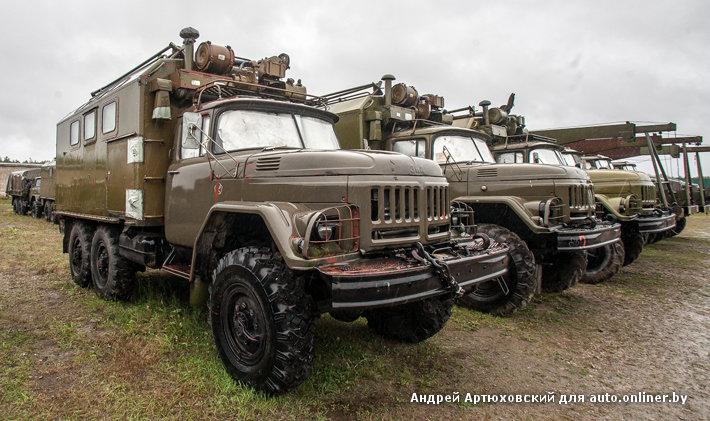 Аукцион военных автомобилей: сколько стоят списанные армейские грузовики? - Авто onliner.by