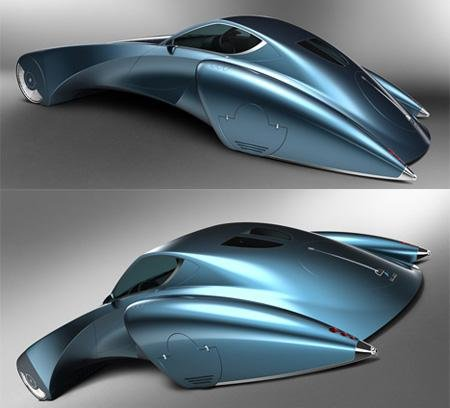 Автомобиль от Bruno Delussu