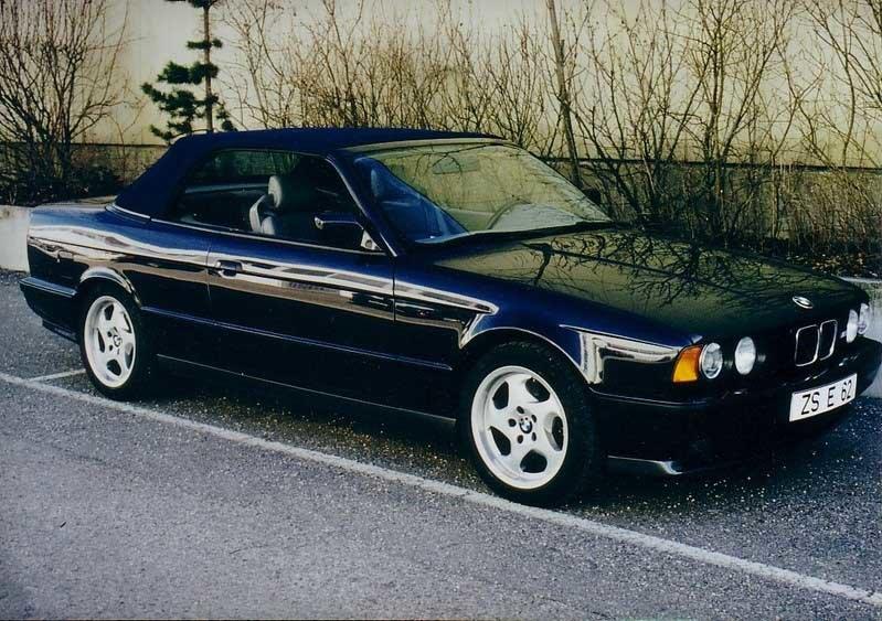 BMW M5 Cabrio E34