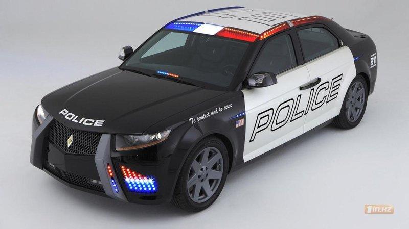 Carbon Motors E7 Police Car - Транспорт – скачать обои, фото, картинки на Первом Казахстанском