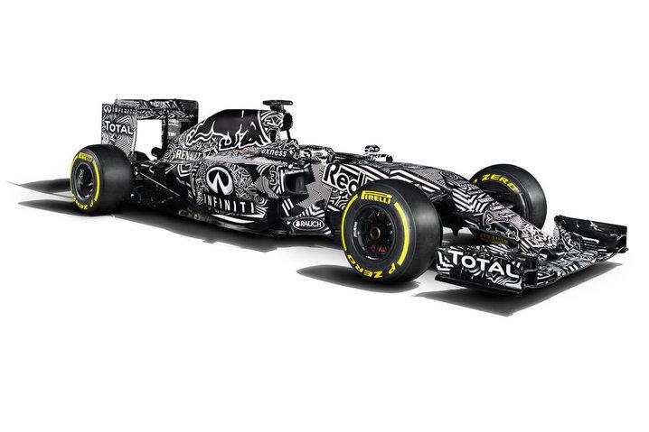 Черно-белый Red Bull