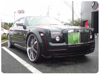 Chrysler 300C в стайлинге Rolls-Royce