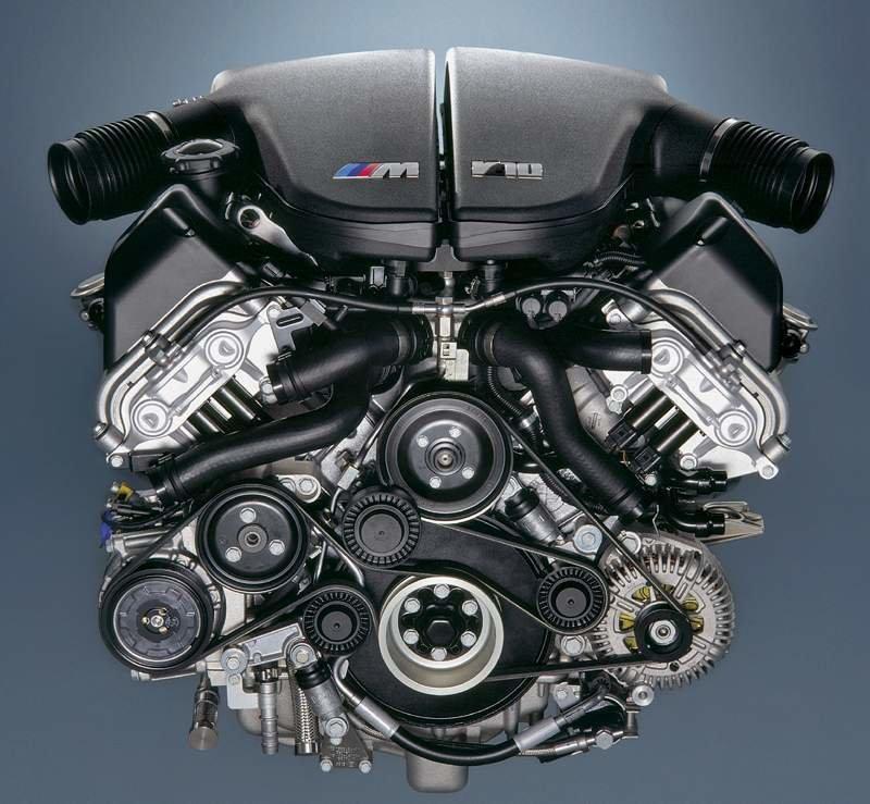 двигатель V10 Бмв М5