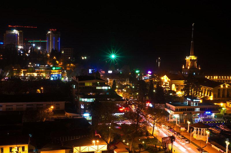 Энергетики восстановили электроснабжение в Сочи. 24 фев 2013 13:12.