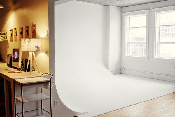 Естественный свет в домашней фотостудии