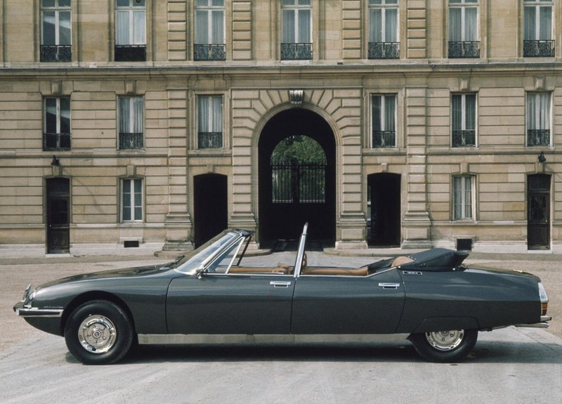 Фото›1972 Citroën SM Presidential