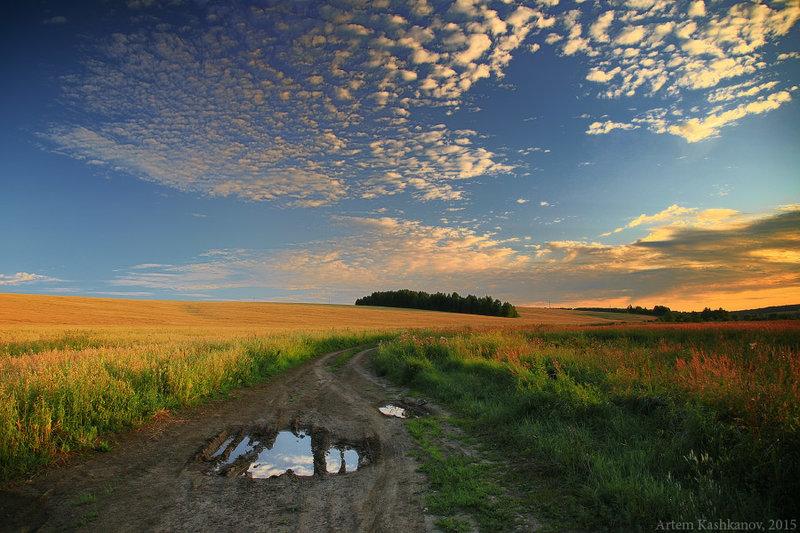 Фото природы - лето. Летние пейзажи. Красивые летние картинки. Фотосайт Артема Кашканова..