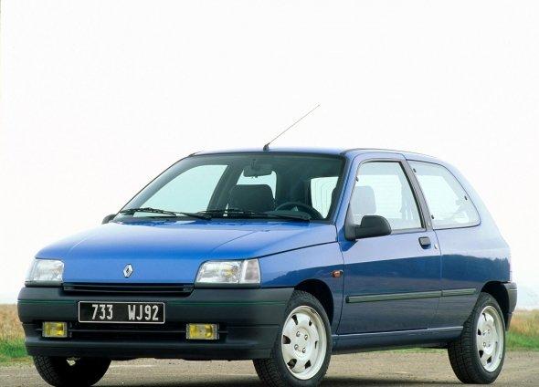 Фото  Renault Clio 3 двери 1990 - 1996 — Бибипедия