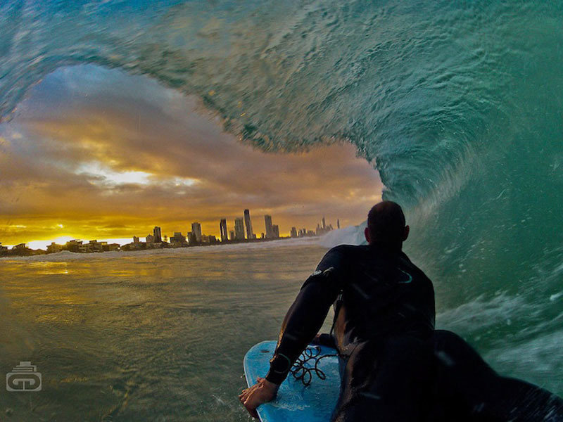 Фото, сделанное камерой GoPro
