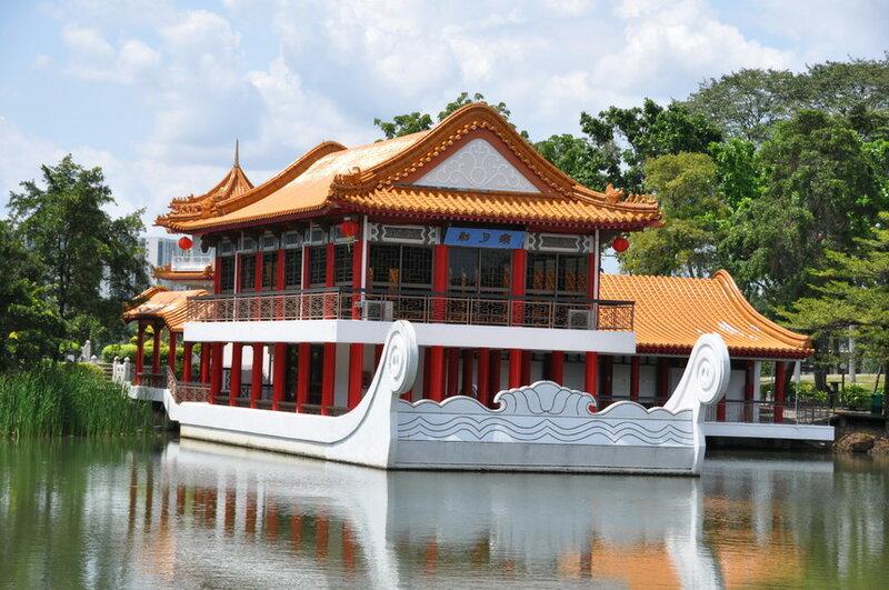 фото Сингапур - китайский сад