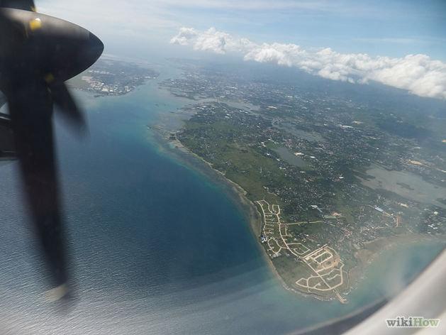 Фотография из окна самолёта #1