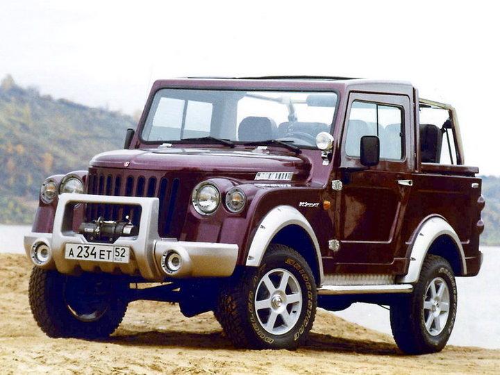 ГАЗ-2169 / -3120 «Комбат» (2000-2004?)
